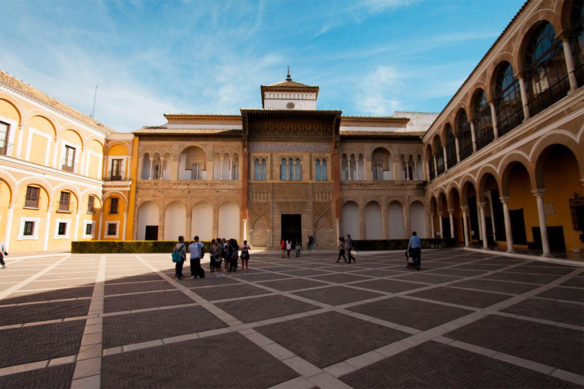 Le Palais royal de l'Alcazar